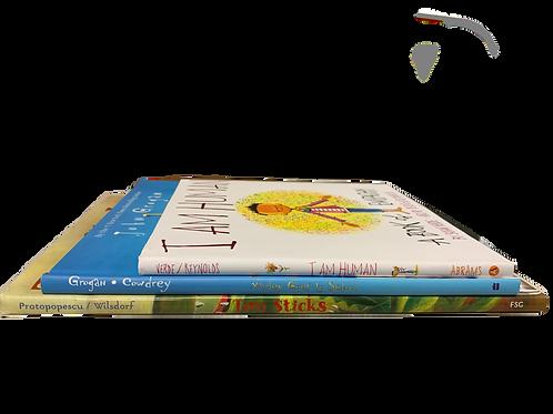 """Preschooler """"I Am Human"""" Book Stack"""