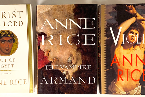 Anne Rice Book Stack
