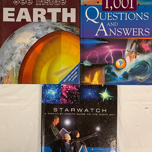 Grade 5 Kids' Reference Book Stack