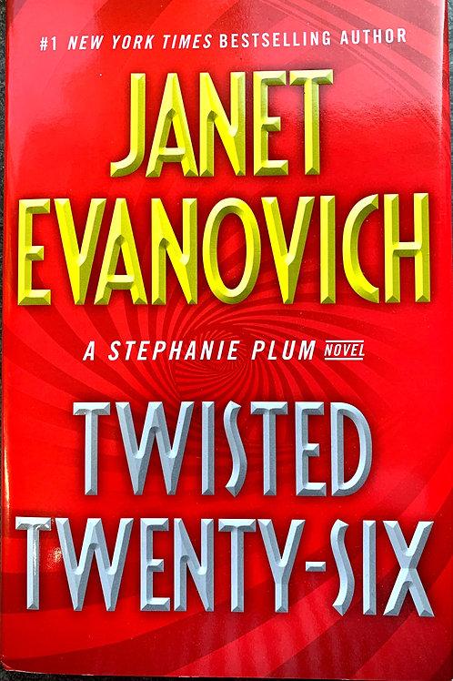Twisted Twenty-Six, by Janet Evanovich (signed)