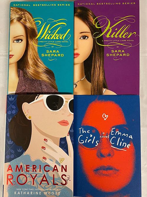 "Teens/YA ""American Royals"" Book Stack"