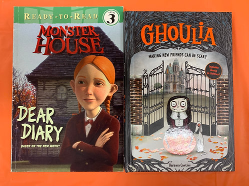 "Grade 1 ""Ghoulia"" Halloween Book Stack"