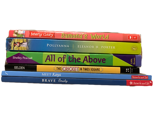 "Grade 3 ""Ramona"" Book Stack"