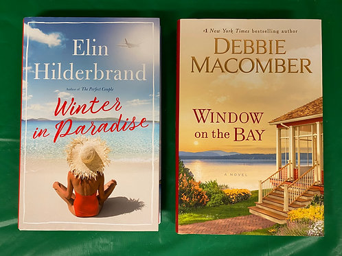 """""""Winter in Paradise"""" Book Stack"""