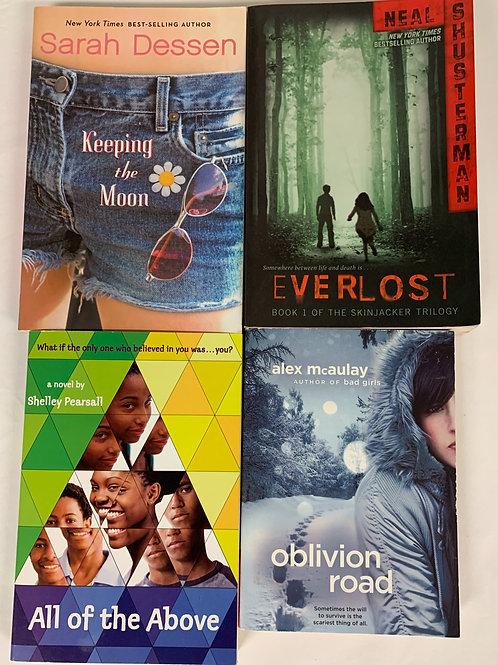 """Middleschooler """"Everlost"""" Book Stack"""