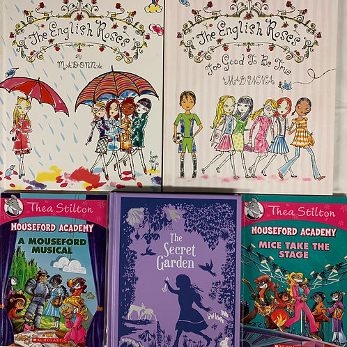 """Grades 2 - 3 """"Mouseford Academy"""" Book Stack"""