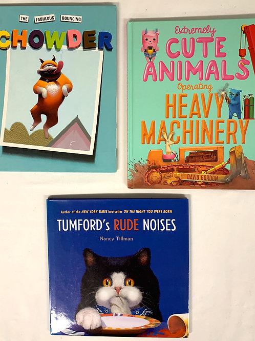 "Preschooler ""Chowder"" Book Stack"