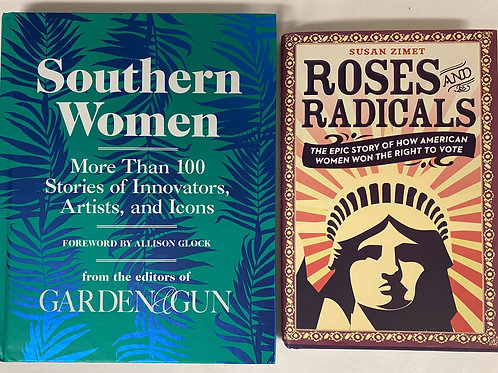 """Southern Women"" Book Stack"