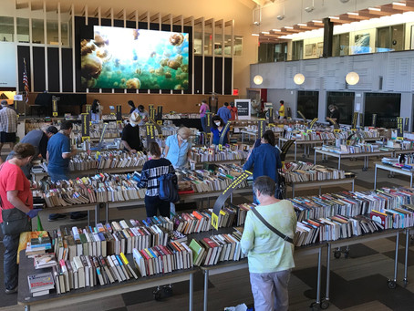 Get Ready for our Memorial Day Weekend Book Sale at the Westport Library May 28 - May 30, 2021