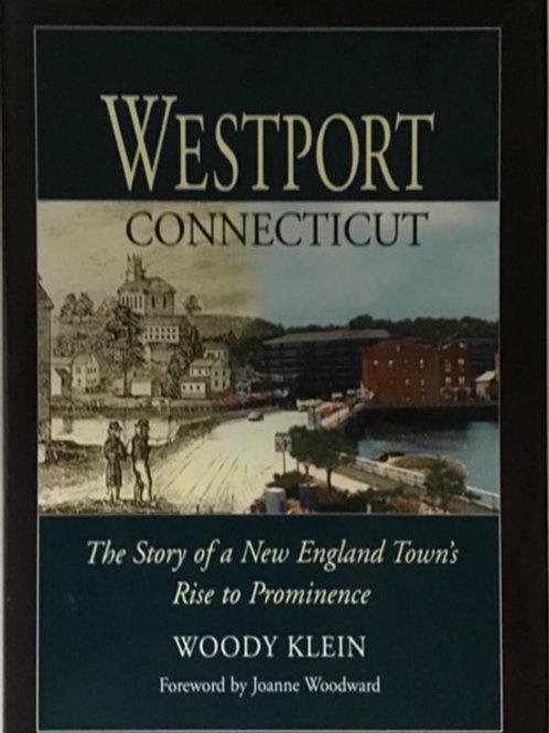 """Signed Copy of Woody Klein's """"Westport"""""""