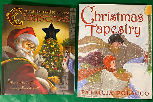 "Grade 1 ""Christmas Tapestry"" Book Stack"