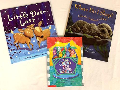 """Preschooler """"Little Deer Lost"""" Book Stack"""