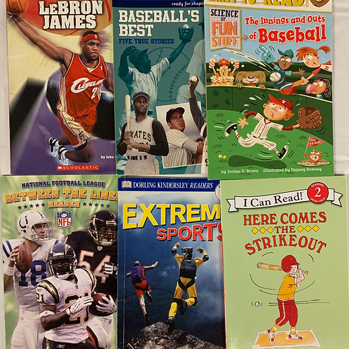 Grade K Sports Readers Book Stack