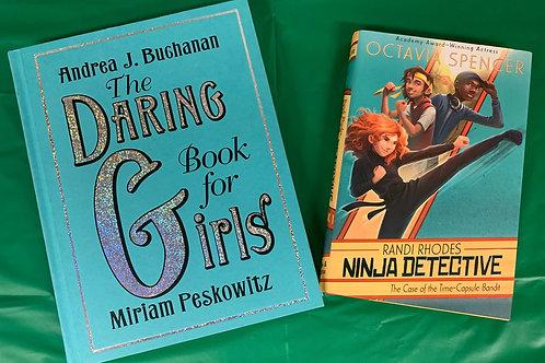 "Grade 3 ""Ninja Detective"" Book Stack"