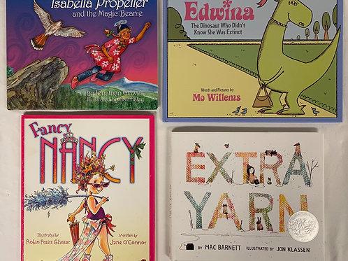 "Preschooler ""Extra Yarn"" Book Stack"