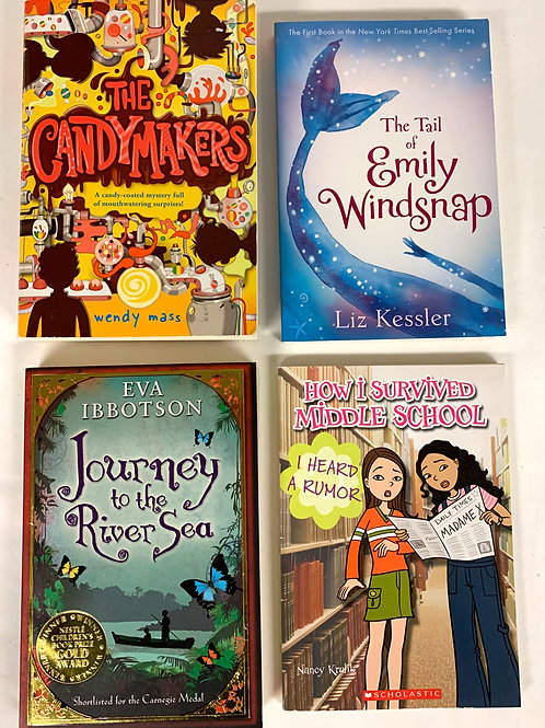 Grades 4 - 5 Candymakers Book Stack
