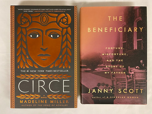"""Circe"" Book Stack"