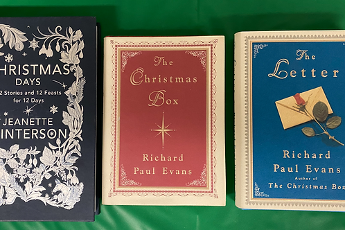 """""""Christmas Days"""" Book Stack"""