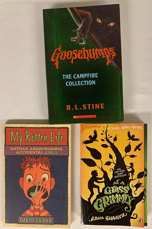 "Grades 4 - 5 ""Goosebumps"" Book Stack"