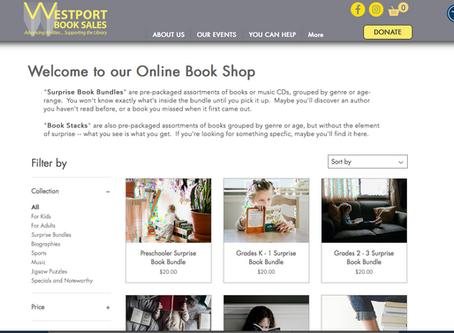 The Westport Library Book Sale is Online!