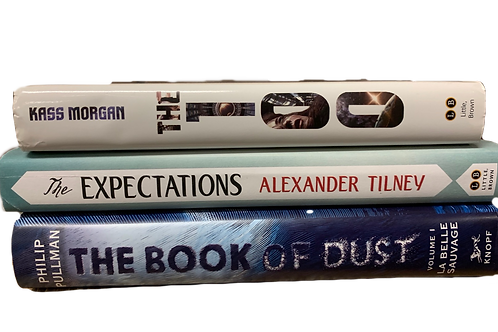 """Teens """"The 100"""" Book Stack"""