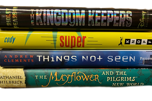 """Grade 5 """"Kingdom Keepers"""" Book Stack"""