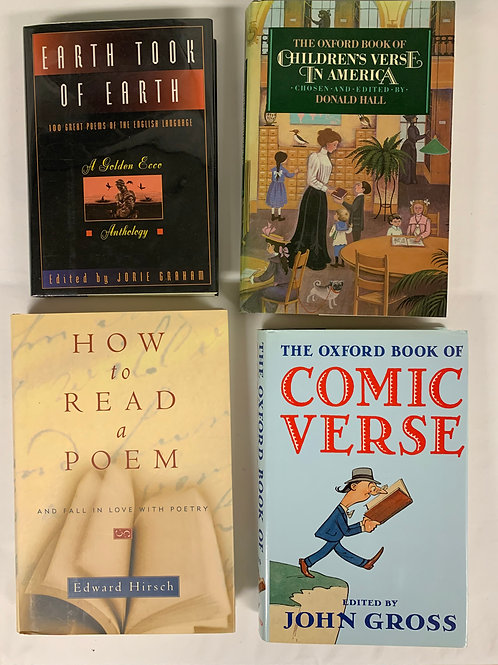 """Comic Verse"" Book Stack"