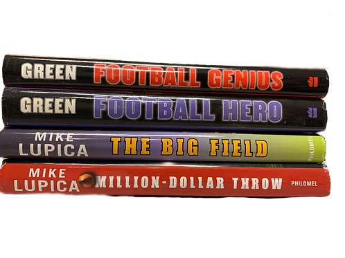 Grade 4 Sports Fiction Book Stack