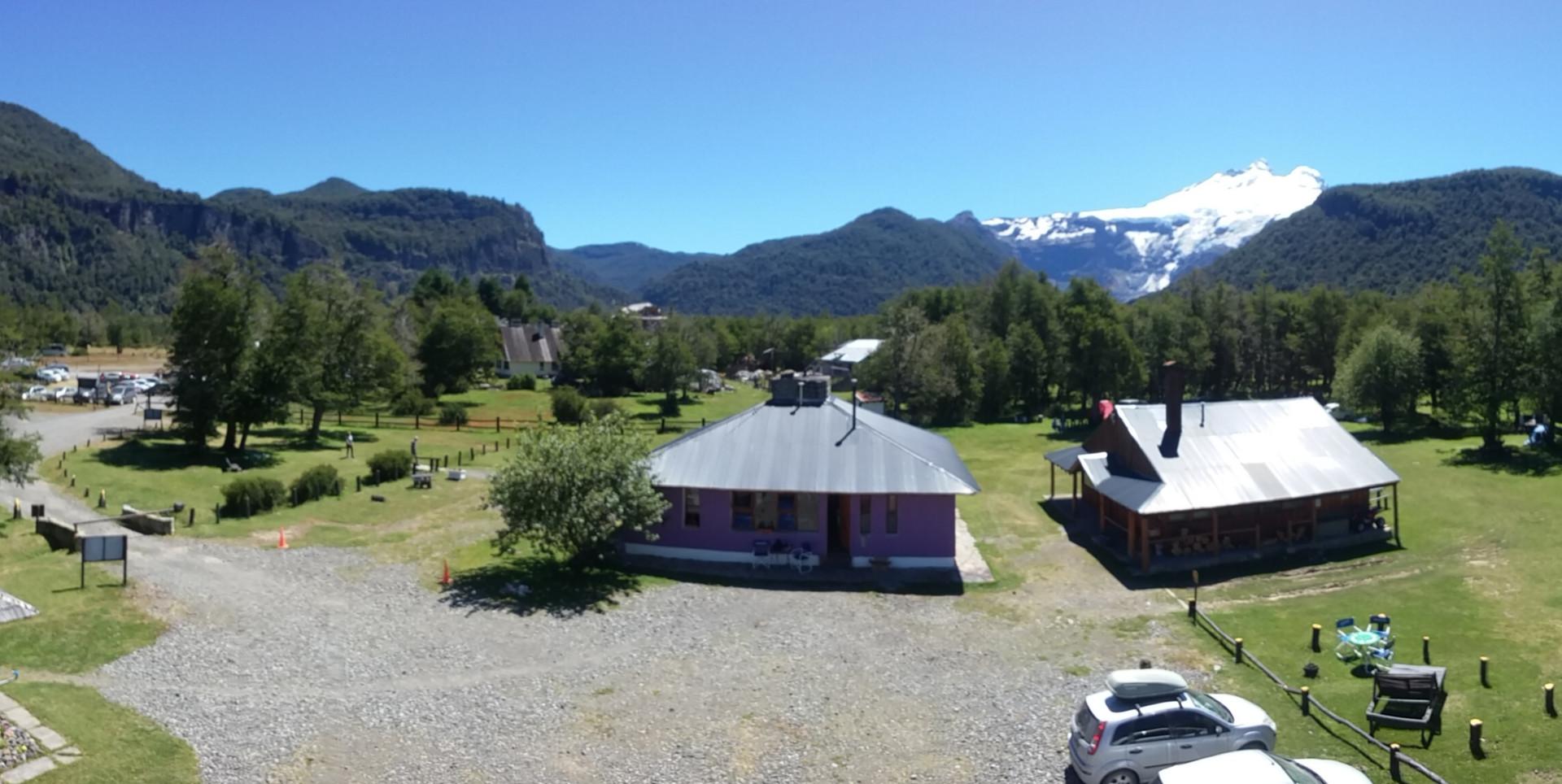 Vista panorámica del Camping