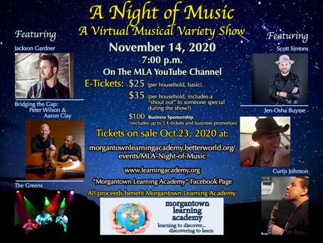 A Night of Music: A Virtual Musical Variety Show!