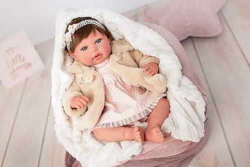 👶 Bebé Reborn Andrea - 45 cm
