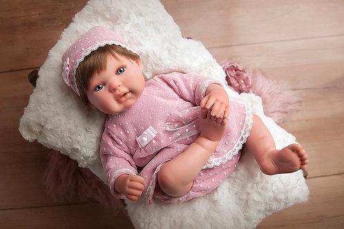 👶 Bebé Reborn Carolina - 45 cm