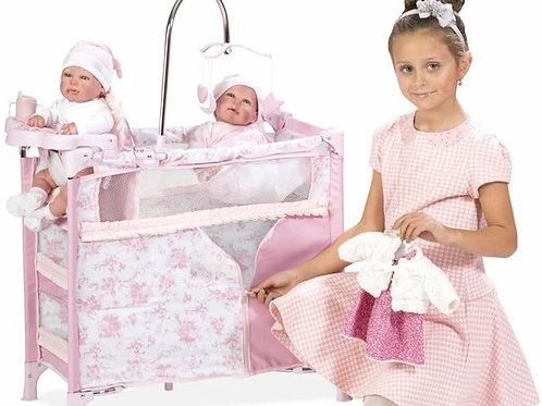Cuna cambiador para Bebés Reborn