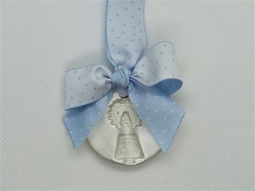 Medalla de la Virgen del Pilar Pequeña