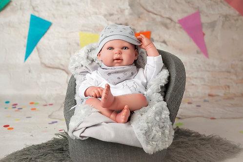 👶 Bebé Reborn Alejandro - 45cm