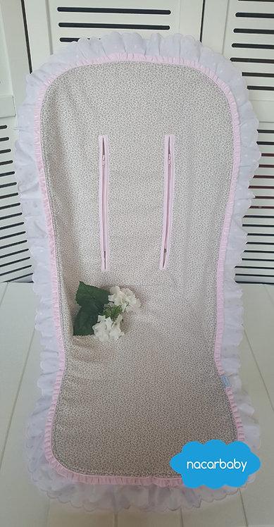 Colchoneta para Silla de Verano Florecitas