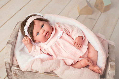 👶 Bebé Reborn Valentina - 45 cm