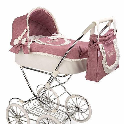Carro de bebé de juguete Valeria para reborn