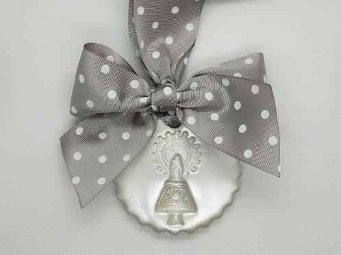 Medalla de la Virgen del Pilar Normal