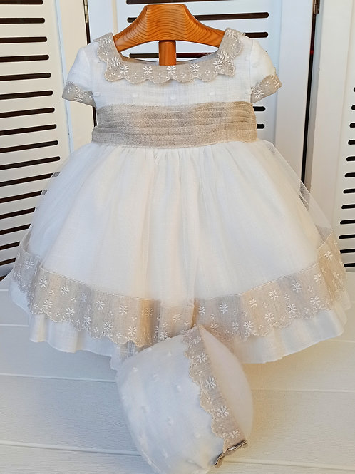 Vestido de Ceremonia Nuez