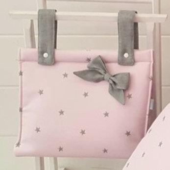 Bolso de carro de bebé Polipiel Sena Rosa
