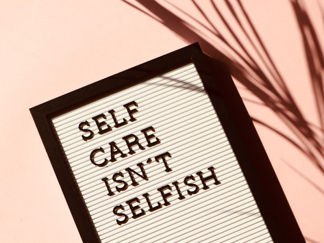 Top 5 Self Care tips for Social Work Students.