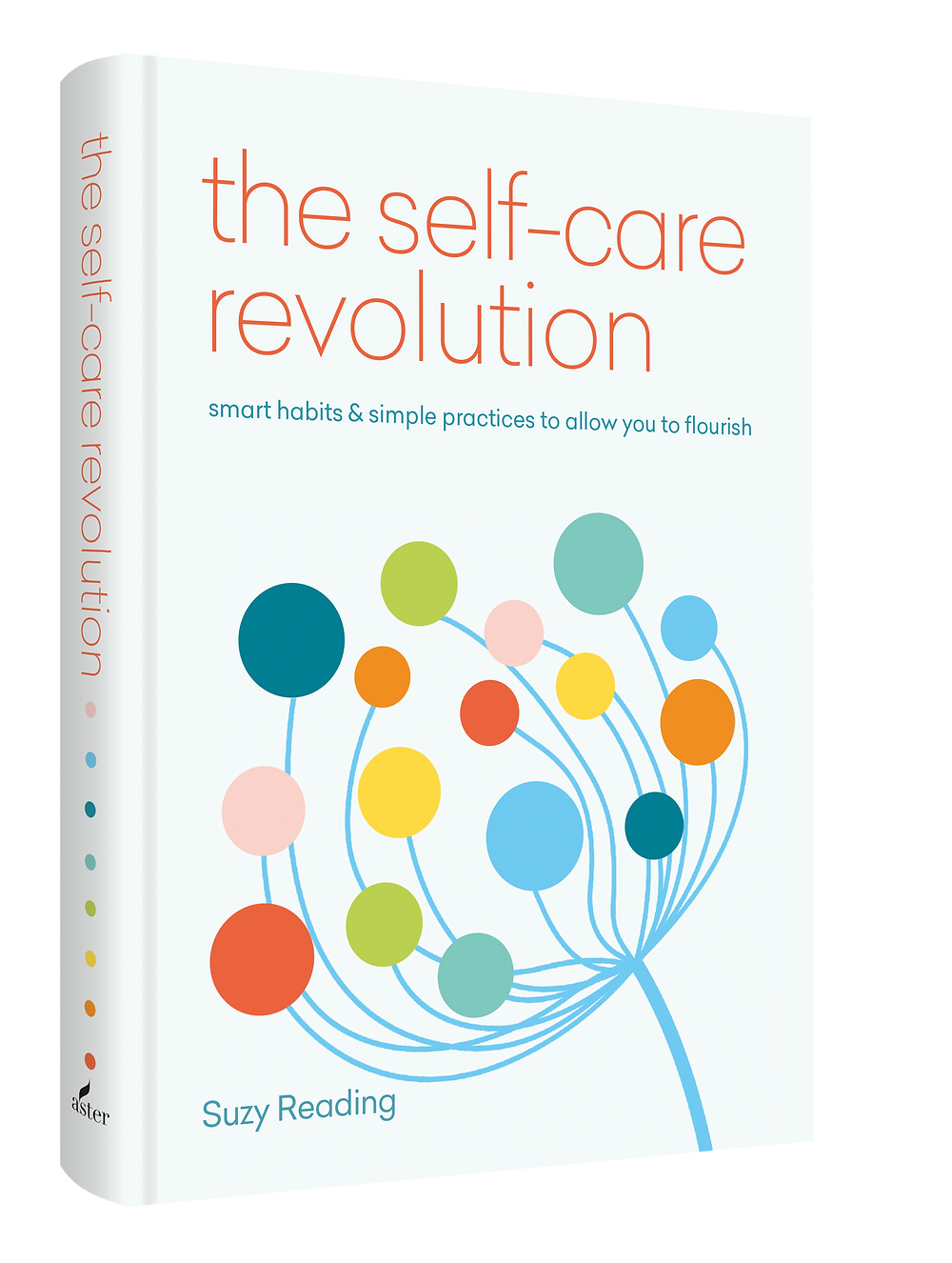 picture of book suzy reading self-care revolution