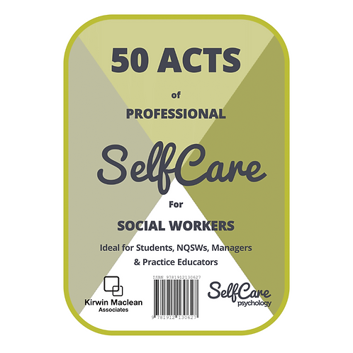 50 Acts of Professional SelfCare for Social Workers