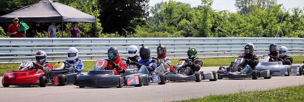 LO206 Senior Class | Go Kart Racing | Te