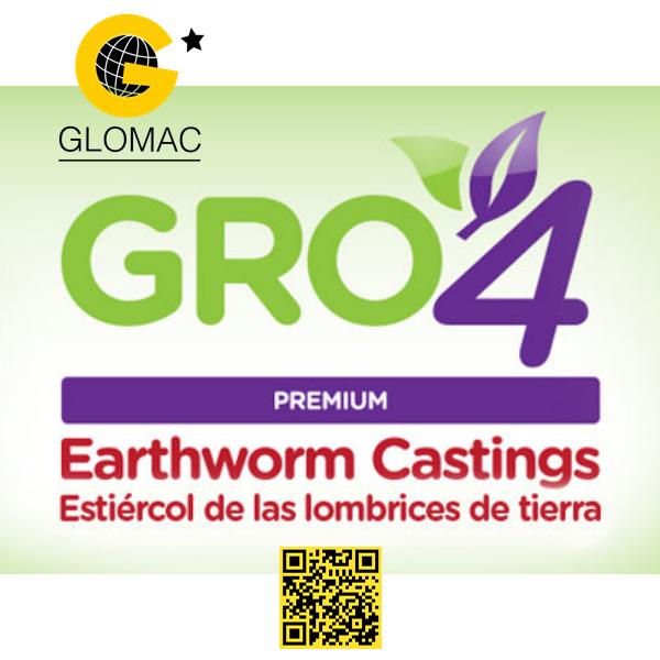 Gro4 Biofertilizante de Estiercol de Lombriz
