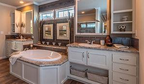 Kitchen Bath & Beyod bath counter cabinet floors