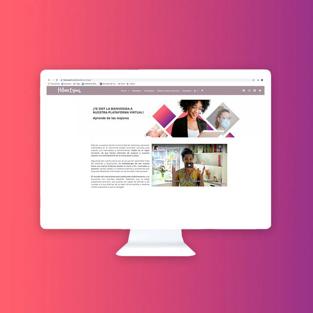 Plataforma virtual Helena Eyimi LTD