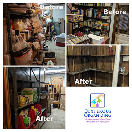 estate clear out oakton before and after