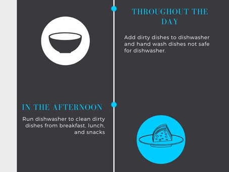 Routine for #nodirtydishes